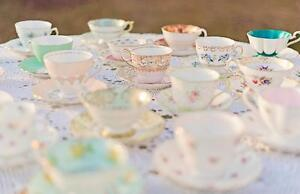 *Vintage tea cups & dishes to rent for Tea Party Birthdays* Windsor Region Ontario image 1