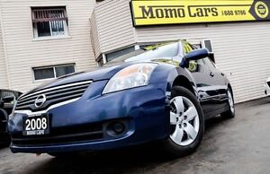 2008 Nissan Altima 2.5 S! CVT! Cruise+AuxIn! ONLY $113/bi-weekly