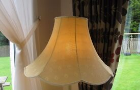 Gold colour lamp shade