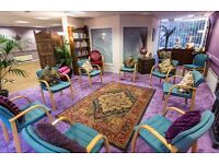 Workshop and therapy rooms available to rent