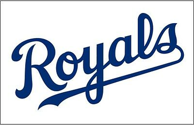 Kansas City Royals Premium Vinyl Decal Sticker NEW!! Window or Car! MLB - Kansas City Royals Stickers