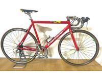 Carrera Virtuoso Mens Road Racing Bike VVGC 58cm XL Alloy Frame 700cc Alex Rims