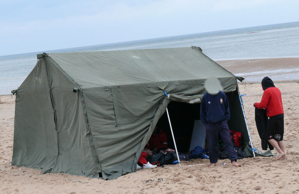 Ex Army frame tent - free to a good home | in Exeter, Devon | Gumtree