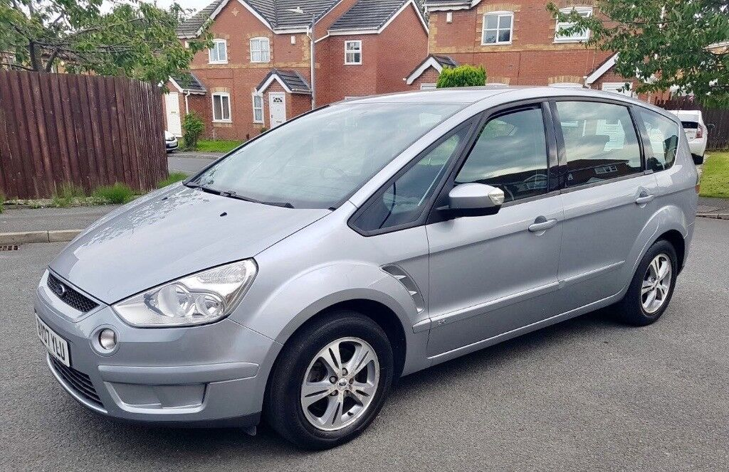 FORD SMAX ZETECH TDCI 2007 DIESEL 6 SPEED GEAR 95000 MILE FULL SERVICE HISTORY 7 SEATER £3490