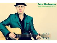 PETE WESTWATER - WEDDINGS/FUCNTIONS/BAR SINGER