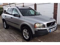 T-Z CARS PRESENT A 2004 VOLVO XC90 2.4 TD D5 SE Geartronic 5dr AUTO HISTORY AND WARRANTY