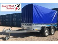 Brand New Twin Axle Trailer 750kg 8'8(L) x 4'1(W) x 4'7(H) *Card Payments Accepted*