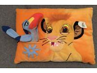 Disneyland Paris Lion King Pillow / Cushion - Unused with tag