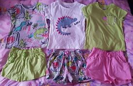 NEXT girls 4-5 year bundle dinosaur range
