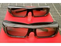 3D Active Glasses Sony TDG-BR100