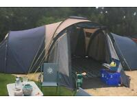 Upto 9 man tent