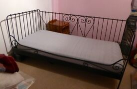 Beautiful IKEA Single Day Bed & Mattress **Top Condition**