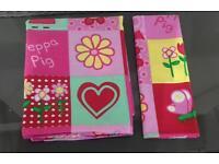 Peppa Pig Cot Bed Duvet Set