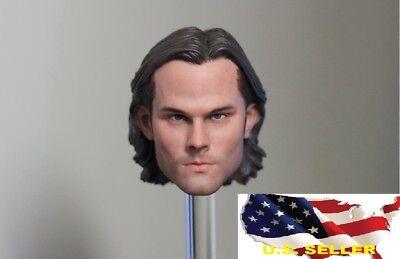 1 6 Sam Winchester Head Jared Padalecki For Supernatural Hot Toys Phicen  Usa