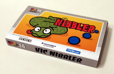Nibbler Cartridge Game for the Commodore VIC20 NEW (2019)