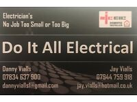 Do It All Electrical- We carry out all electrical works- 24hr call out
