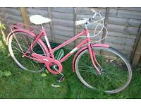 Hunter Charlston 3 Speed Ladies Vintage Town Bike