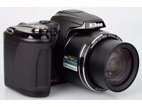 Nikon Coolpix L310 14.1MP Bridge SLR Style Digital 21x Superzoom Camera