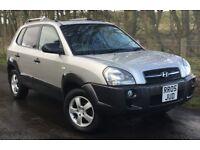06/56 Hyundai Tucson 2.0 CRTD GSi⭐️Diesel 4x4 4WD⭐️MOT September 2018⭐️FREE PRIVATE PLATE⭐️Cheap Car