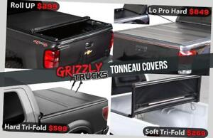 GRIZZLY TONNEAU COVERS!!! Hard and Soft !! MEGA SALE $269 ONLY !!