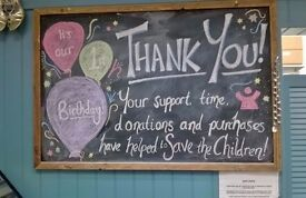 North Berwick Save the Children Shop! Join Our Volunteer Team!