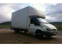 Removals and man and luton van covering all of paisley and renfrewshire area