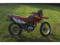 Honda XR 2007 125cc - Enduro - Green Lane - Road Legal / Offroad - 12month MOT