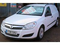 Vauxhall Astra Small Economical Van 1.4 *Duel Fuel Petrol/LPG - cheap to run*