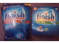 Finish All in one max 74 + 35 diswasher tablets Cleaning Dishes original genuine
