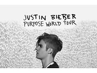2x Justin Bieber Tickets at Cardiff Principality Stadium 30th June