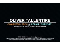 Oliver Tallentire | Computer Repairs | IT Support | Marketing Services | Contact Me