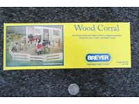 Breyer Wood Corral Fencing 1:9 Scale