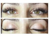 Individual eyelash extensions. £30 Evening bookings available.