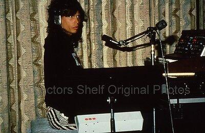 AEROSMITH STEVEN TYLER 1980s SLIDE TRANSPARENCY Photo by RANDY BACHMAN