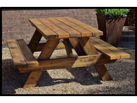 Traditional Very Heavy Duty Pub Bench 5ft Craftsman Made~Not a Flimsy Picnic Bench~Pubs~Restraunts