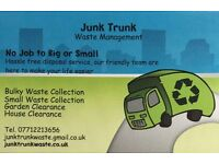 Junk Trunk Waste Management, House & Garden Clearance and Rubbish Removal