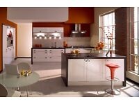 Shaker Style Gloss White Kitchen for Sale Only £895!