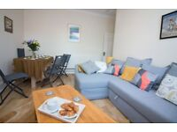 One, Two and Three Bedroom short stay apartments in Eastbourne. Fully serviced.