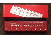 Carl Martin Octa-switch II Guitar Pedal