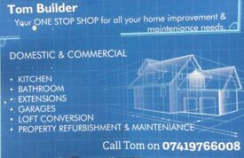 Plasterer Builder - property refurbishment