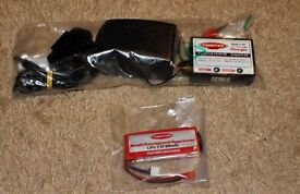 Charger and Battery for Twister Agressor R/C Model Helicopter