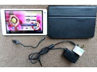 """Ramos W17Pro 8GB 7"""" Inch 1GB Memory Dual Core Android Tablet Charger+Cable+Cover"""
