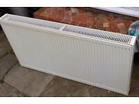 Modern style second hand radiators, 6 in total