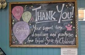 Volunteer in N.Berwick Save the Children Shop!