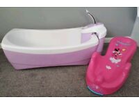 Baby Bath Summer Infants Lil' Luxuries Whirlpool Spa & Shower- Lavender Pink