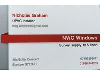 Double Glazing (UPVC) Installer. Survey, supply, fit & finish. 18 years experience