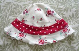 Cute Summer Baby Hat - (0-3 months)