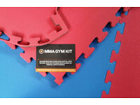 20 x 20mm Jigsaw Mats 1m2 Best UK Prices, UK wide Delivery, For Taekwondo, Kickboxing, Karate, MMA