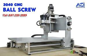 110v 30x40 CNC Engraving Machine ball screw 4 axis Control box can upgrade 11000RPM 017208