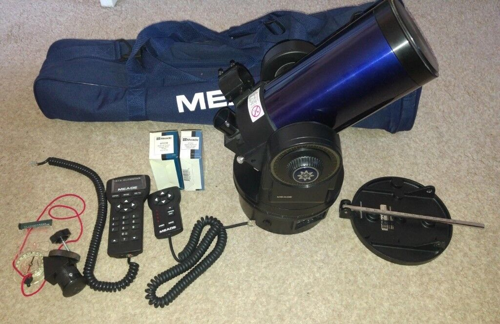 Meade ETX 105 EC telescope and tripod with hard case and carry bag £350 0no